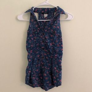 Fitted Flower Tank Top
